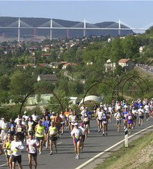 100 km de Millau - épreuve internationale course à pied - Gite La Garde - Gagnac 12310