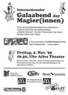 Galaabend der Magierinnen 1995