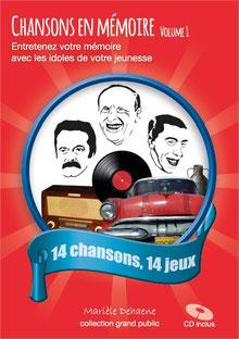 Chansons en Mémoire, grand public, jeu mémoire pour personnes agées, seniors