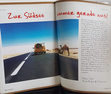 Reportage über unsere Marokkoreise von 2018/19 im KASBAH-Magazin