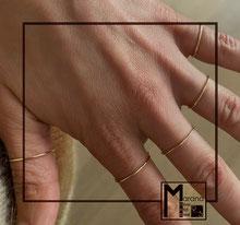 Fedine ultrasottili da 1mm
