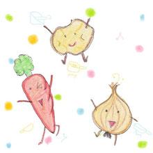野菜たちの踊り