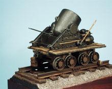 """il mio primo modello...il famoso Dictator, mortaio da 13"""" impiegato durante la ACW 1861-1865"""
