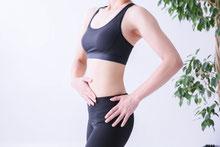 良い姿勢を維持すると体感が鍛えれる