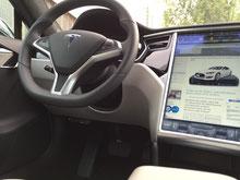 TravelControl Tesla mit Antennenweiche