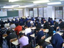 模擬試験や大学説明会なども行います。