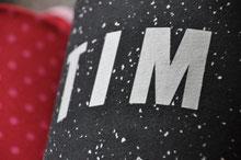 Bild: AnfängerGlück Schultüte mit Buchstaben TIM