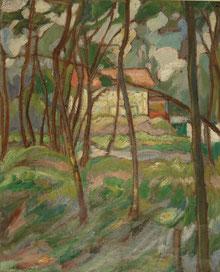 paysage2 1916 41x33 huile sur toile André Aaron Blils