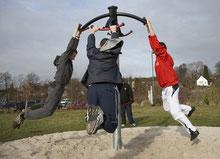 QUad Flyer per parco, giochi per parchi, attrezzature per parchi gioco, strutture ludiche Stileurbano Ciuffo Baobab certificati Norma EN1176 CATAS stileurbano oratorio FOM odielle abbiategrasso