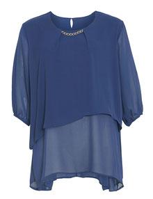 junge mode in großen größen münchen , blaues Top XXL
