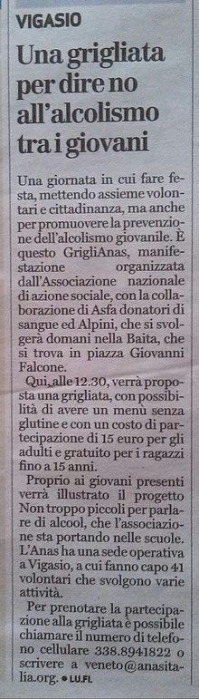 Dal quotidiano l'Arena del 23/09/2017.