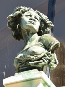 """""""L'Esclavage"""", ou la négresse captive- Musée Lombart-Doullens"""