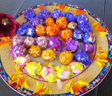 Blüten Frischkäse- Speise www.kraeuter-entdecken.de