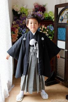 No.5-22『黒紋付5歳』