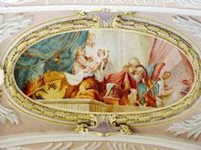 Geburt Marias (Asamfresko)