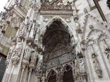 Tympanon Hauptportal - Regensburger Dom