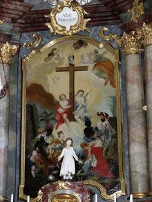Hochaltarbild Wallfahrtskirche Heilig Kreuz, Schambach