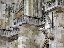 Dämonen an der Außenmauer - Regensburger Dom