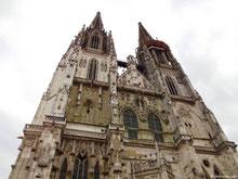 Doppelturmfassade - Regensburger Dom