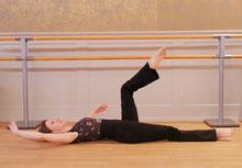 Ballett trifft Pilates, Floorbarre