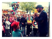 Auch bei größeren Events, Firmenevents oder Festen als Kinderanimation, Mr.Magic