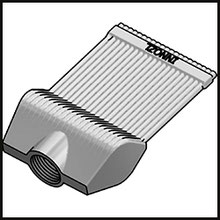 Schleifdüse Breite 50mm  (STL38-50-5-2,0-TI)