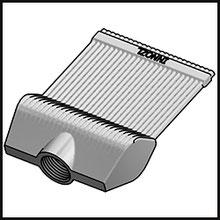 Schleifdüse Breite 60mm  (STL38-60-5-2,0-TI)