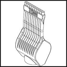 Schleifdüse Breite 20mm  (STL14-56-20-5-1.6-TI)