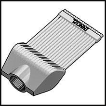 Schleifdüse Breite 40mm  (STL38-40-5-2,0-TI)