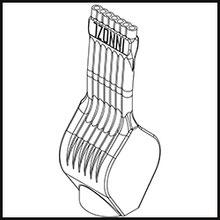 Schleifdüse Breite 12mm  (STL14-56-12-5-1.6-TI)