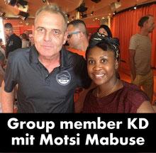Klaus Dieter mit Motsi Mabuse