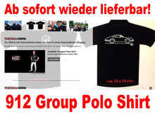Porsche 912 Urzwölfer Polo Shirt