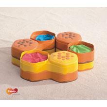 Collines d'équilibre tactiles pour jeux de coordination et équilibre enfants à acheter pas cher.