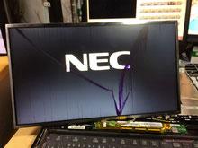ノートパソコンの液晶交換