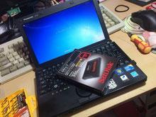 SSDへ換装