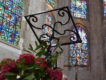 Somme Groupes - Agence de Voyages - Réceptif - Voyages en groupes - Somme - Groupes - Séjour - Hauts de France - Amiens - Abbeville - Patrimoine - Visite Abbeville - Abbeville en groupe - Abbatiale de Saint Riquier - Sculpture de blettes - Style Gothique