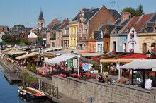 Somme Groupes - Séjour - Journée - Groupes - Agence de voyages - Réceptif - Amiens - Somme - Quartiers - Saint Leu - Cathédrale - Restaurant - Histoire - Patrimoine - Visite - Guide - Visite guidée