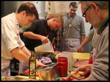 Kochkurs für Betriebsveranstaltungen mit Tagung. Tagungshotel bei Celle
