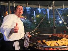 Grillfest oder Barbecue im Sommergarten bei Celle. Genau richtig für Ihre Betriebsfeier
