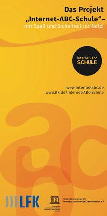 "Titelbild des Flyers ""Internet-ABC-Schule Baden-Württemberg"""