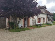 Gîte de charme La Nigaudière 3 étoiles à Lassay-sur-Croisne en Sologne, proche des châteaux de la Loire Chambord, Cheverny, Chenonceau