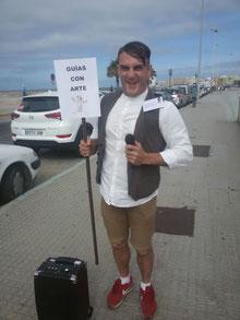 guía turístico cómico en Cádiz