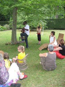Chants et spectacle yogi pour HAÏTI