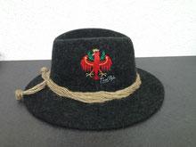 Lodenhut hüte filz filzhüte loden Damen  Mode Tirolershop Tiroler Shop dem Land Tirol die Treue Tiroler Hersteller Hersteller aus Tirol TirolStyle Stickerei Druckerei Damen Mode für den heimatverbundenen Tirolerin