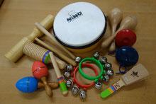 楽器も使います!