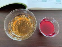 (左:カレンデュラ、右:クランベリー)