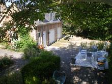 """vue de la terrasse """"des garennes"""""""