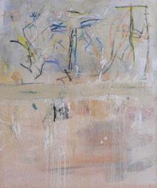 KINDESAUSDRUCK, Mischtechnik auf Leinwand, 100 x 120 cm, 2005