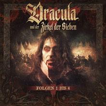 CD Cover Dracula und der Zirkel der Sieben