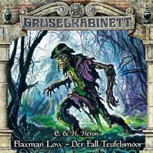 CD Cover Grusekabinett Der Fall Teufelsmoor